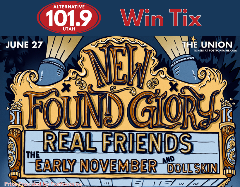 Win Tix to New Found Glory at the Union on Thursday June 27th From ALT 101.9