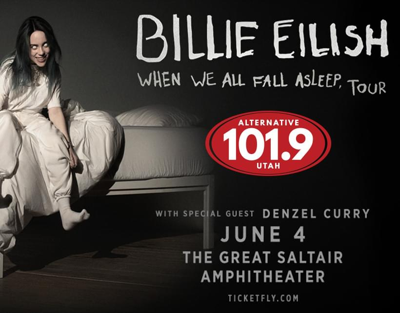 Win Tix to Billie Eilish June 4th at The Great Saltair (SOLD OUT)