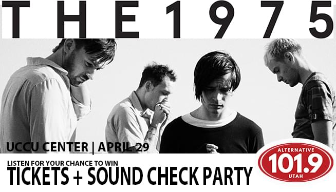 Win Tix to The 1975 at the UCCU Center April 29th 2019 From ALT 101.9