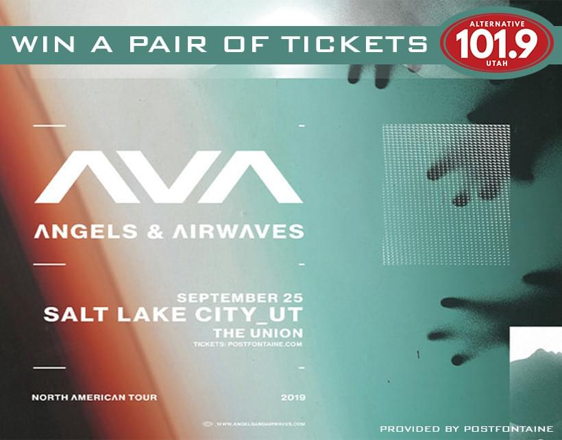 Win 2 Tix to Angels & Airwaves at The Union on September 25th From ALT 101.9