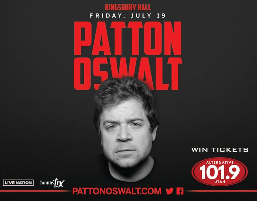 Win Tix to Patton Oswalt Live on July 19th at 8P at Kingsbury Hall From ALT 101.9
