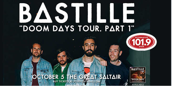 Win 2 Tix to Bastille October 5th at THE COMPLEX From ALT 101.9