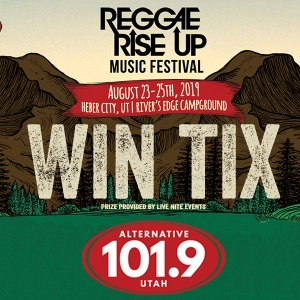 Win Tix to Reggae Rise Up Music Festival on August 23rd-25th at Rivers Edge in Heber City