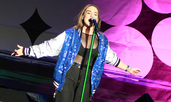 Exclusive Backstage Interview & Photos: JoJo Returns to Providence for the 7/27 Tour with Fifth Harmony