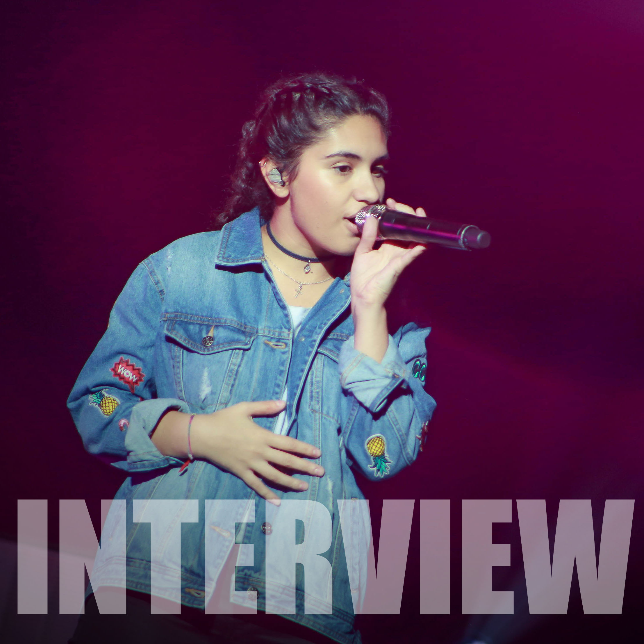 Alessia Cara exclusive backstage interview at Foxwoods