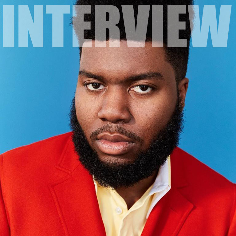 INTERVIEW Khalid backstage in Boston