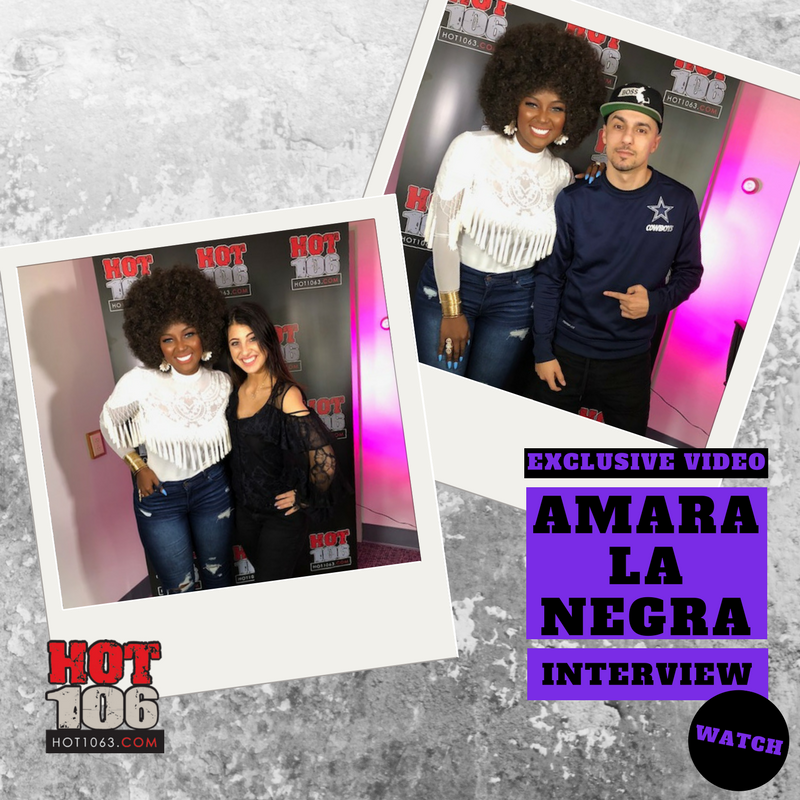 INTERVIEW: Bekah and Mike sit down with Amara La Negra!