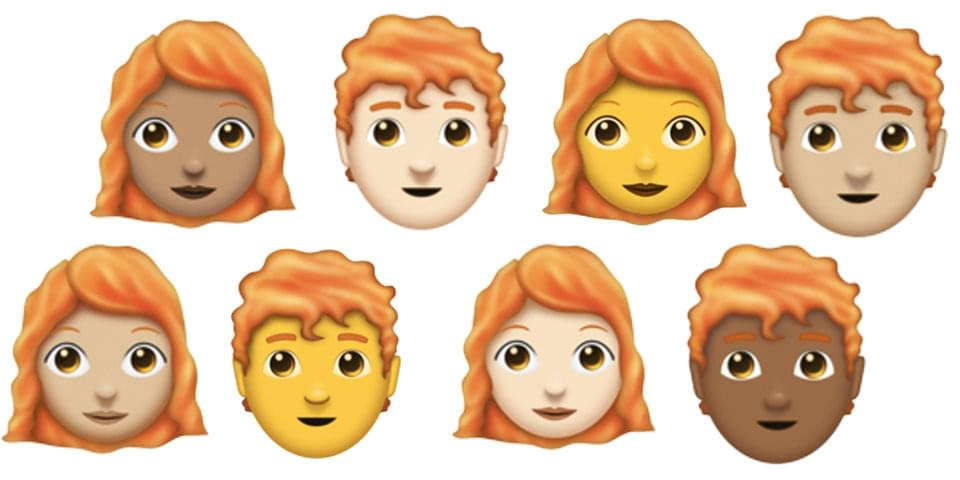New Emojis for Gingers, Bagel Lovers and…Toilet Paper?