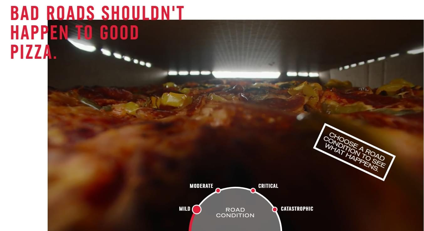 Domino's Is Filling Potholes…For Pizza