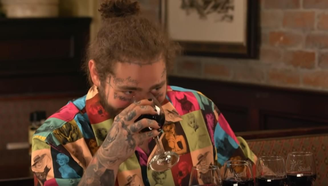 Must See: Jimmy Fallon + Post Malone go to The Olive Garden