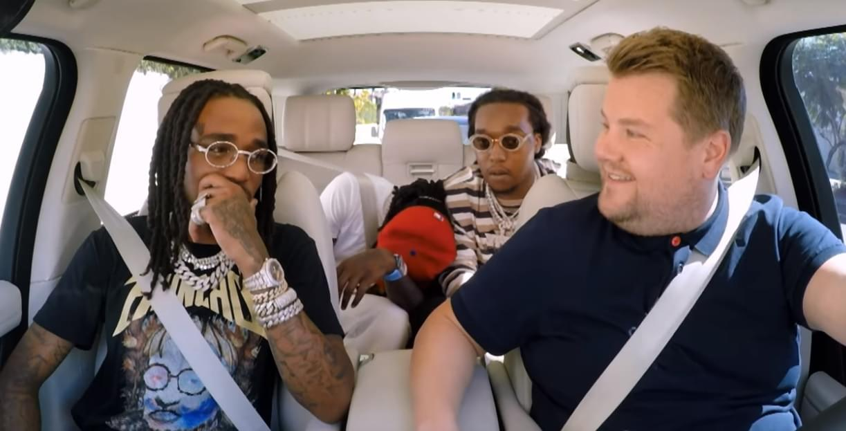 Migos Does Carpool Karaoke