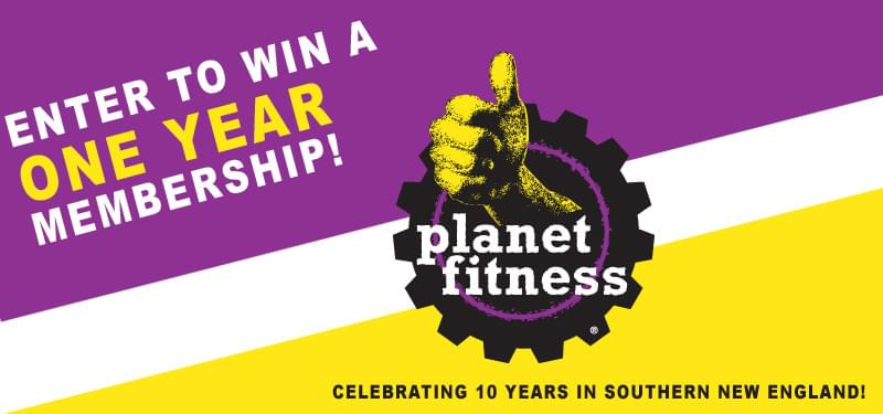 Enter to Win: A One Year Membership to Planet Fitness