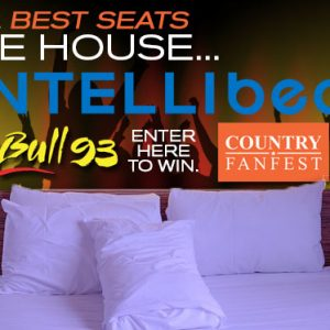 Win tickets to Country Fan Fest and the Best Seats in the House from Intellibed