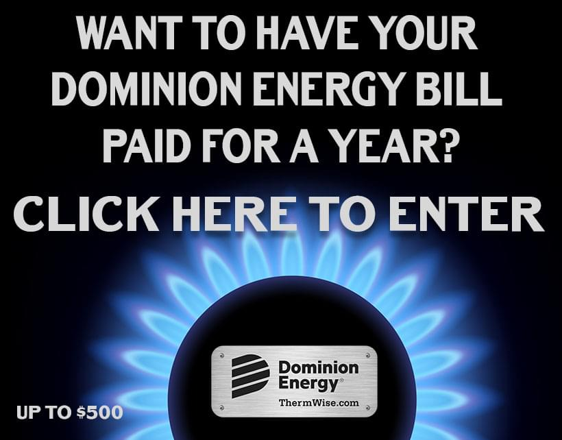 Dominion Energy Wants to Pay Your Bill for a Year
