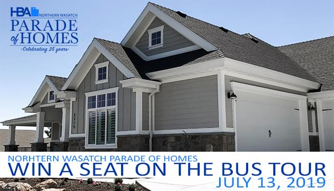 Northern Wasatch Parade of Homes Bus Tour