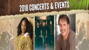 Wild Adventures Theme Park 2018 Concerts & Events