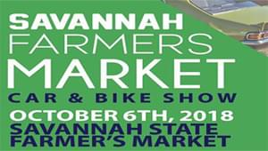 SAVANNAH FARMERS MARKET – CAR&BIKE SHOW