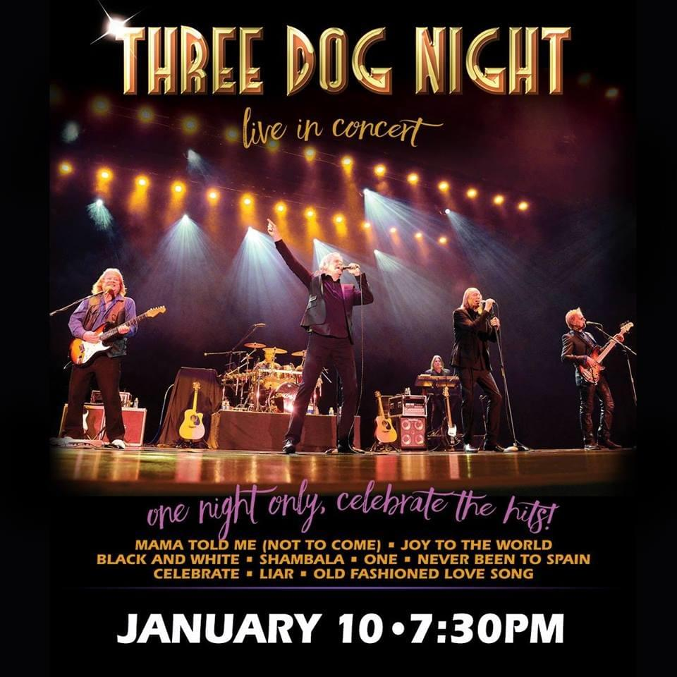 3 Dog Nights Best Seats | WIXV-FM