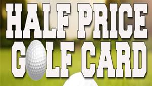 2018 Savannah Golf Card Half Off!