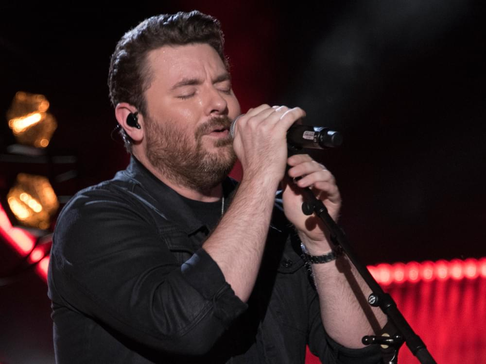 "Watch Chris Young Debut Tear-Inducing New Song, ""Drowning,"" on the Grand Ole Opry"