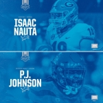 Lions draft Georgia TE Isaac Nauta and Arizona DT P.J. Johnson in seventh round