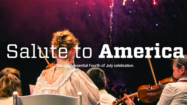 DSO's Salute to America – July 3-6