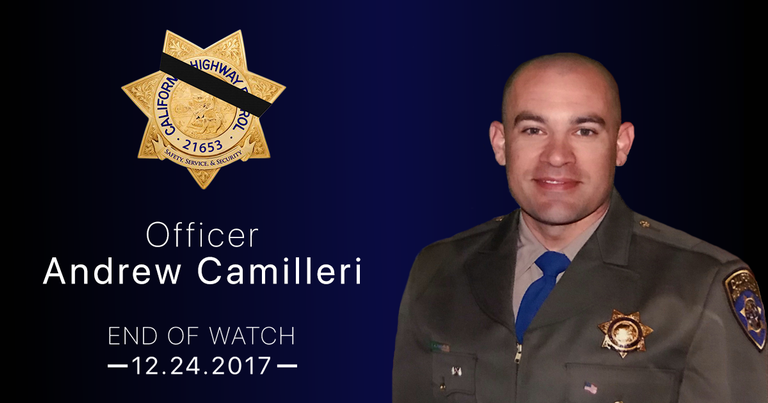 CHP officer killed on Christmas Eve