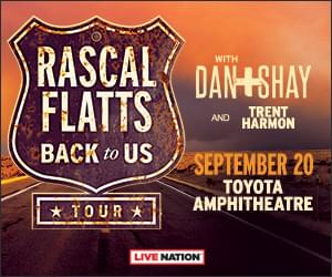Rascal Flatts Is Coming To Kat Country!