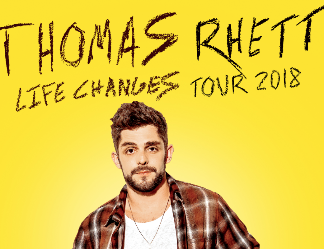 Thomas Rhett Is Coming To Kat Country
