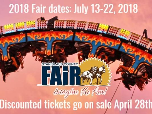 Get Your 2018 Stanislaus County Fair Tickets Here!