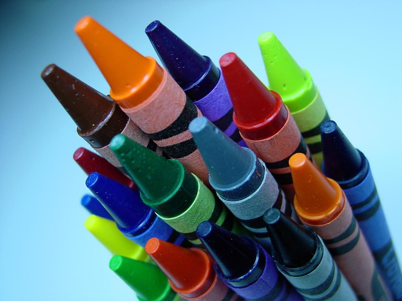 Crayons…For Your Face? Yes, They're Here!