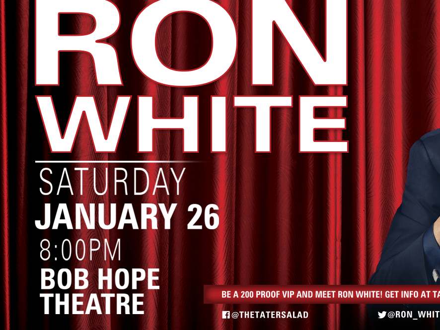 Ron White is coming to Kat Country! Get your tickets here…