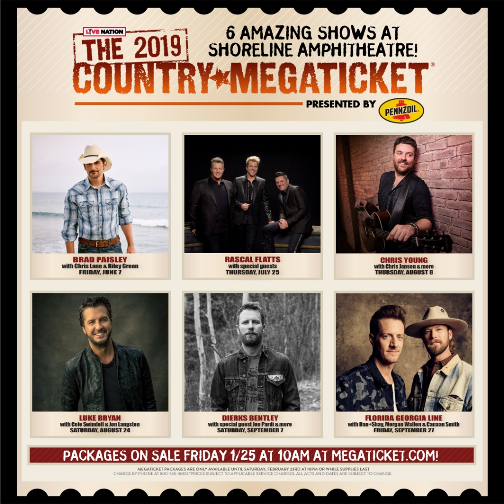 Country Mega Ticket 2019 is here!! Get your pre sale tickets this Friday…