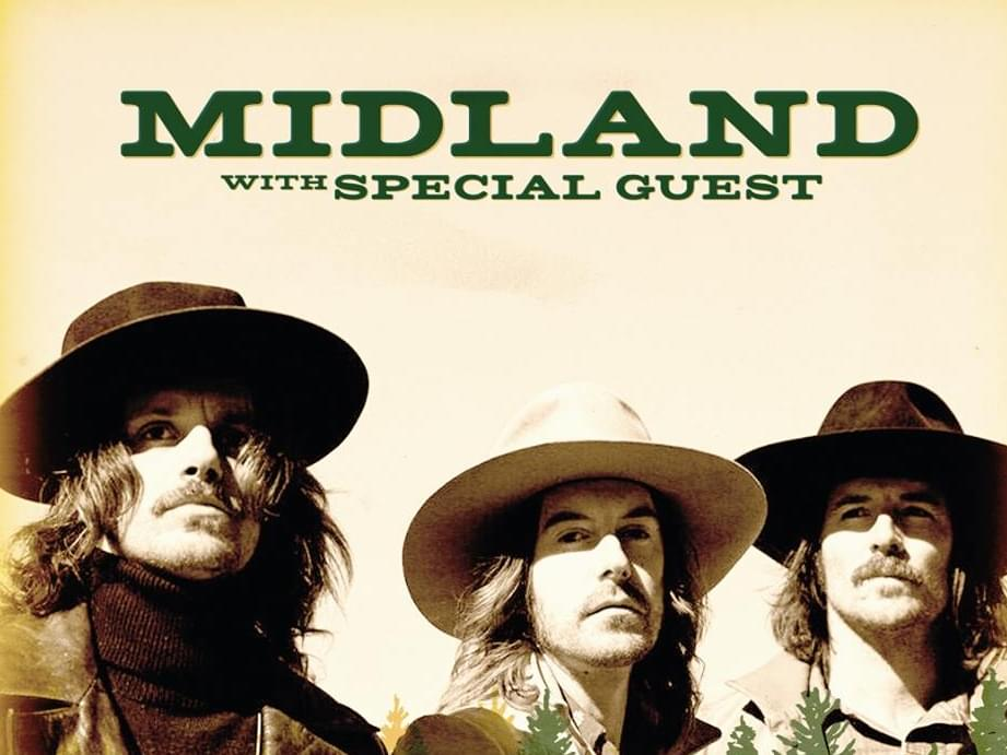 Midland is coming to Black Oak Casino!!!