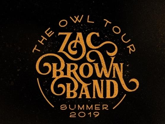 Zac Brown Band is coming to Kat Country!