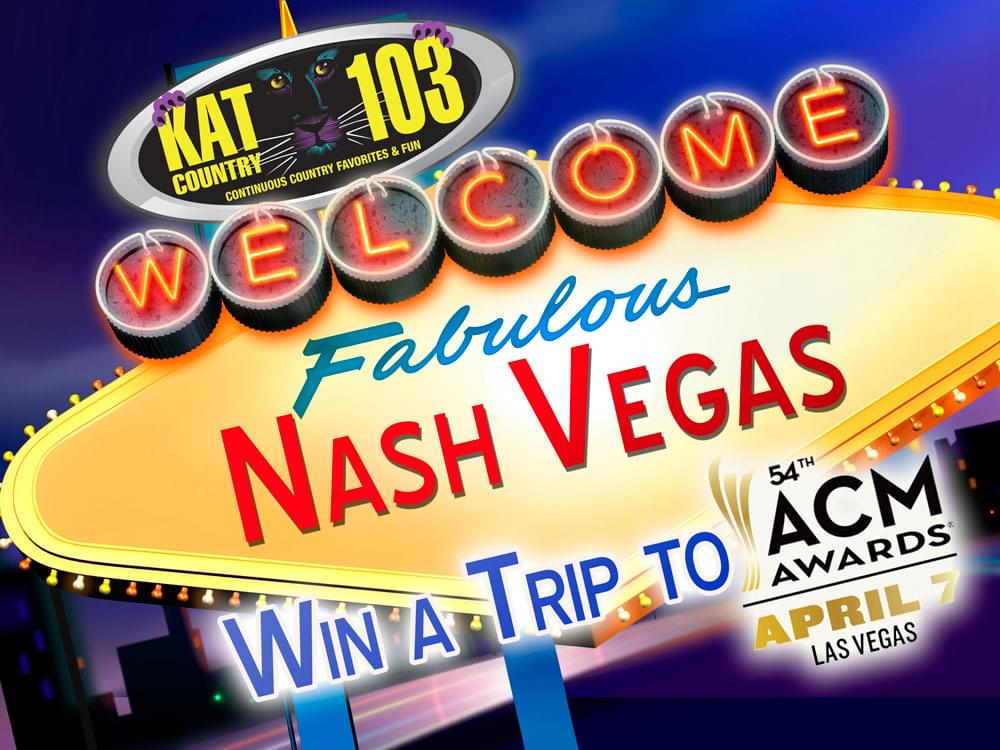 Win a trip to the ACM Awards!!
