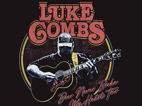 Luke Combs is coming to Kat Country!