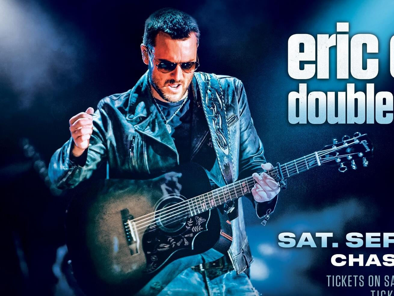 Eric Church is coming to Kat Country! Win em before you can buy em!
