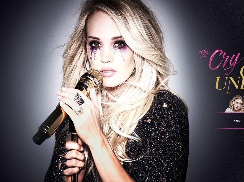 """Carrie Underwood is bringing her """"Cry Pretty 360"""" Tour to Kat Country"""