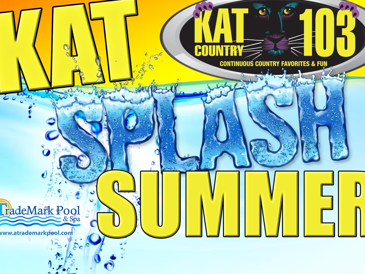 Kat Splash Summer 2019 is here