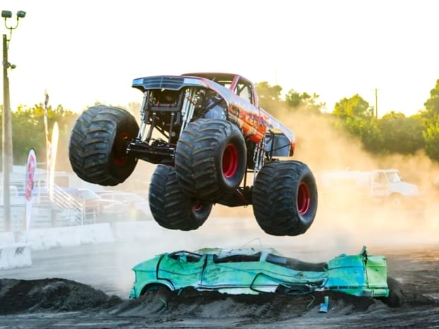 Monster Truck Mania at the Stanislaus County Fair July 12th and 13th