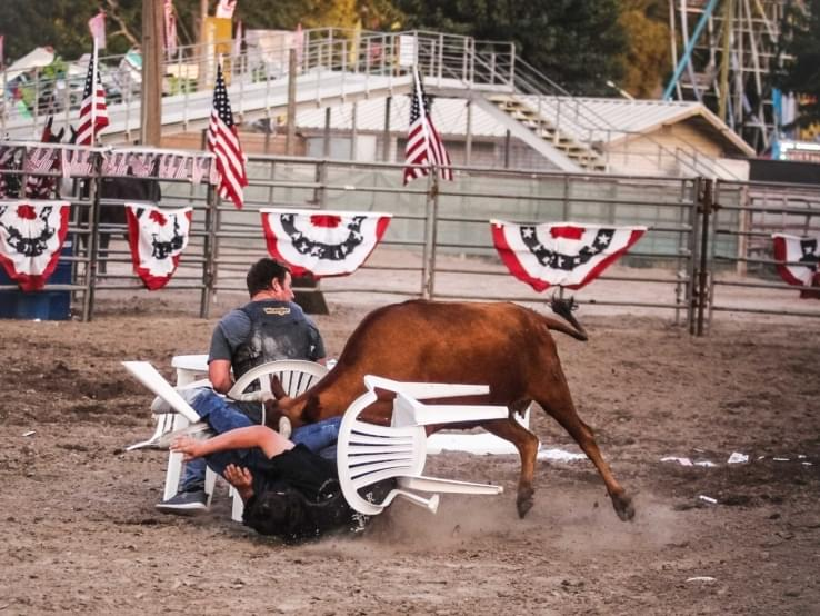 Rodeo Games at the Stanislaus County Fair