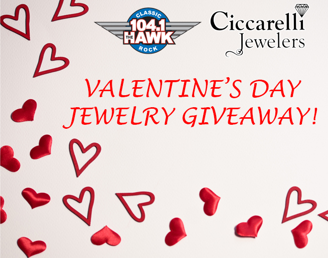 Valentine S Day Jewelry Giveaway Khkk Fm