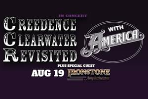 Creedence Clearwater Revisited & America at Ironstone