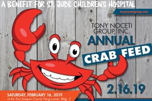 Crab Feed Benefit for St. Jude Children's Hospital