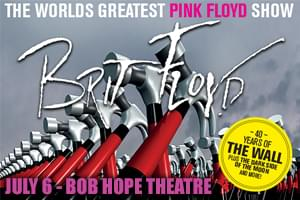 Brit Floyd July 6th at the Bob Hope Theatre