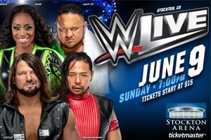 WWE LIVE in Stockton