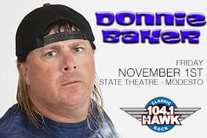 Donnie Baker at the State Theatre