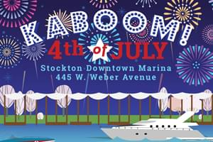 KABOOM – Stockton Marina 4th of July