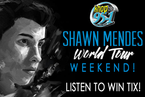 Shawn Mendes World Tour Weekend!